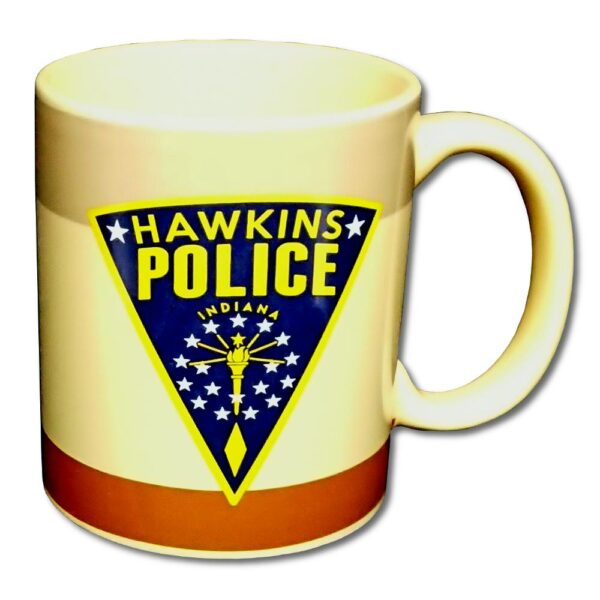 Stranger Things - Mugg - Hawkins Police Badge