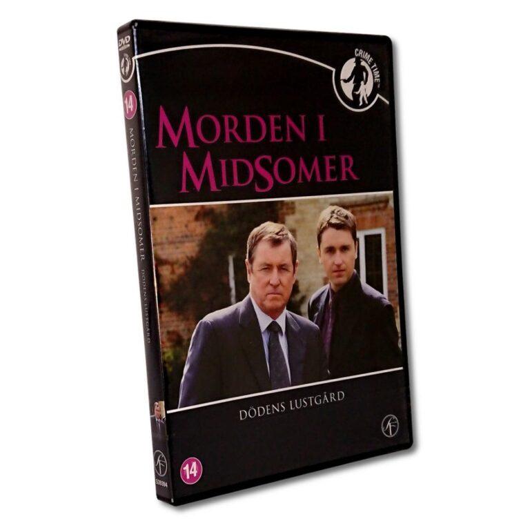 Morden i Midsomer: Dödens Lustgård – DVD – John Nettles