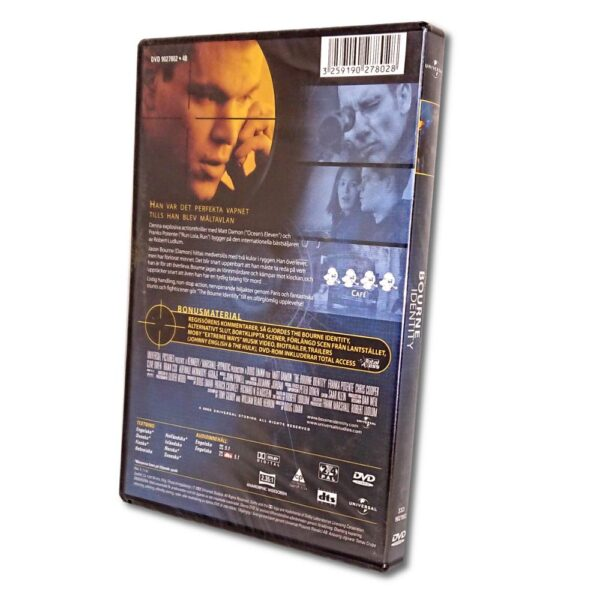 The Bourne Identity - DVD - Action - Matt Damon