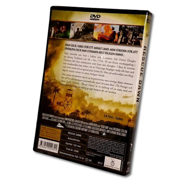 Rescue Dawn - DVD - Actionthriller - Christian Bale