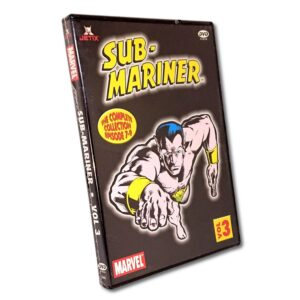 Sub-Mariner - Vol. 3 - DVD - Tecknad barnfilm