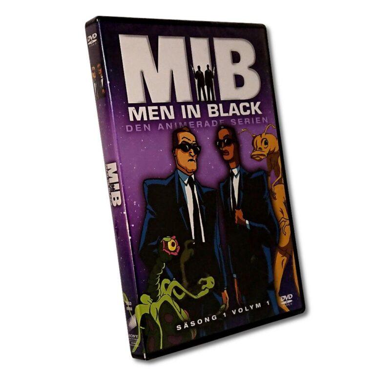 Men In Black – Säsong 1 Volym 1 – DVD – Den animerade serien