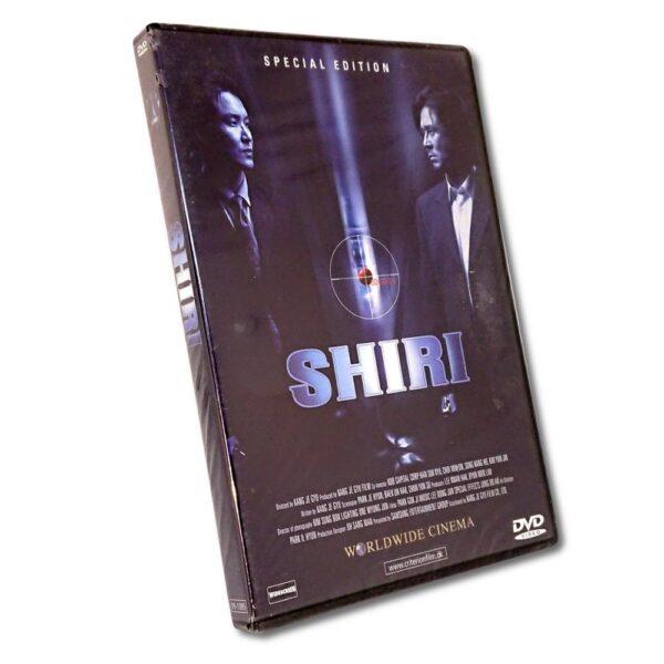 Shiri - DVD - Action - Seuk-Kye HYan - Danskt Omslag
