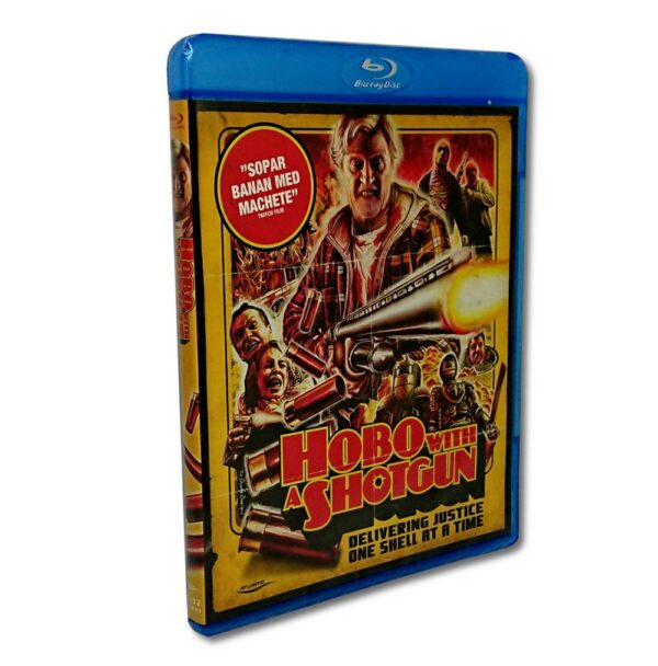 Hobo With a Shotgun - Blu-Ray - Action - Rutger Hauer