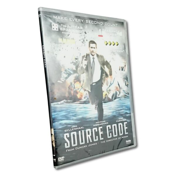Source Code -DVD - Slim Case - Thriller - Jake Gyllenhaal