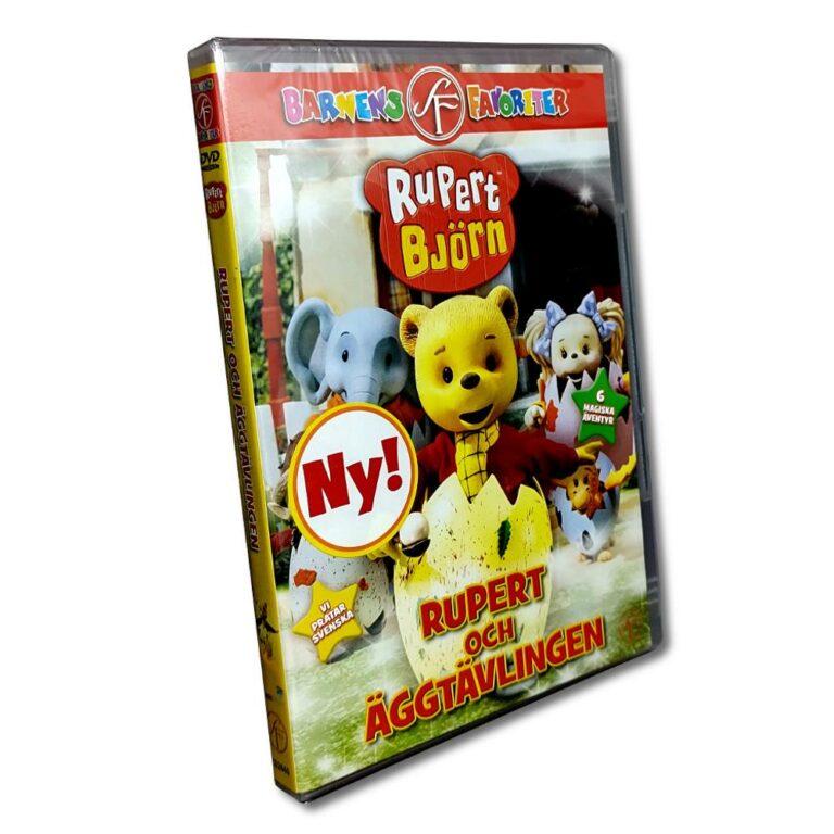 Rupert Björn – DVD – Rupert och äggtävlingen