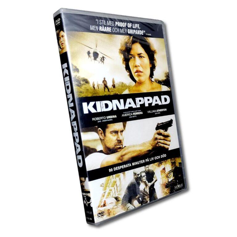 Kidnappad – DVD – Thriller – Roberto Urbina