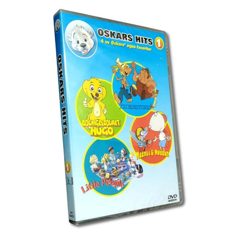 Oskars Hits Vol.1 – DVD – Tecknad barnfilm