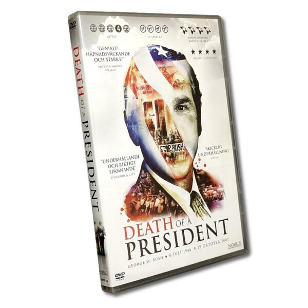 Death of a president - DVD - Thriller - Hend Ayoub