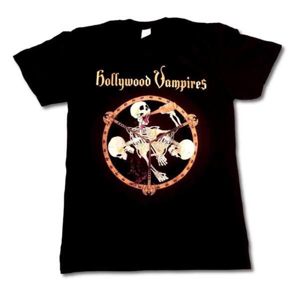 Hollywood Vampires - T-shirt - Drink, Fight, Puke