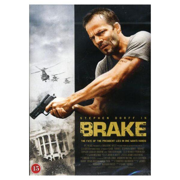 Brake - DVD - Thriller med Stephen Dorff, Chyler Leigh, JR Bourne, Tom Berenger