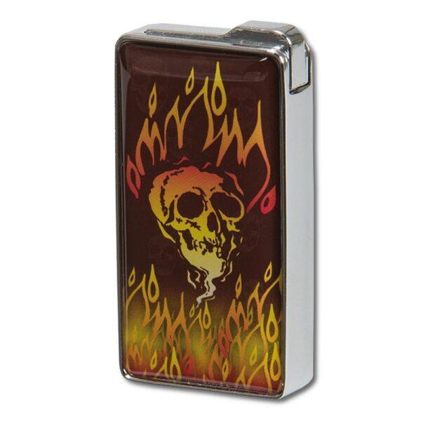 Joker - Tändare - Flaming skull
