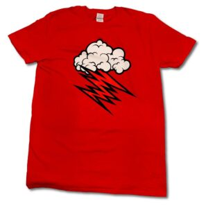 Hellacopters - T-shirt - Cloud - Röd
