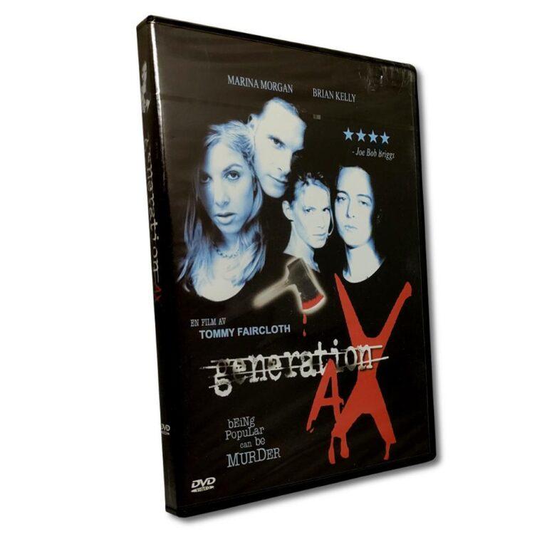 Generation Ax – DVD -Thriller – Marina Morgan