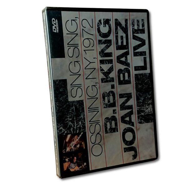 Live in Sing Sing 1972 - DVD - B.B King - Joan Baez