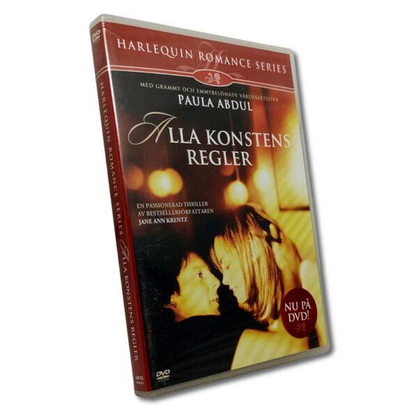 Harlequin: Alla Konstens Regler (DVD) Romantik med Chandra West