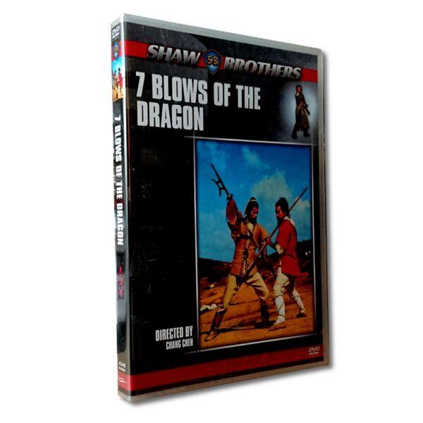 7 Blows Of The Dragon - DVD - Action - David Chiang