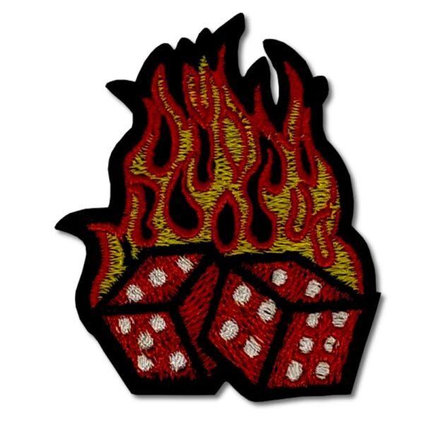Tygmärke - Flaming Dice