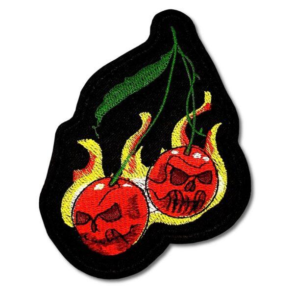 Tygmärke – Flaming Cherries