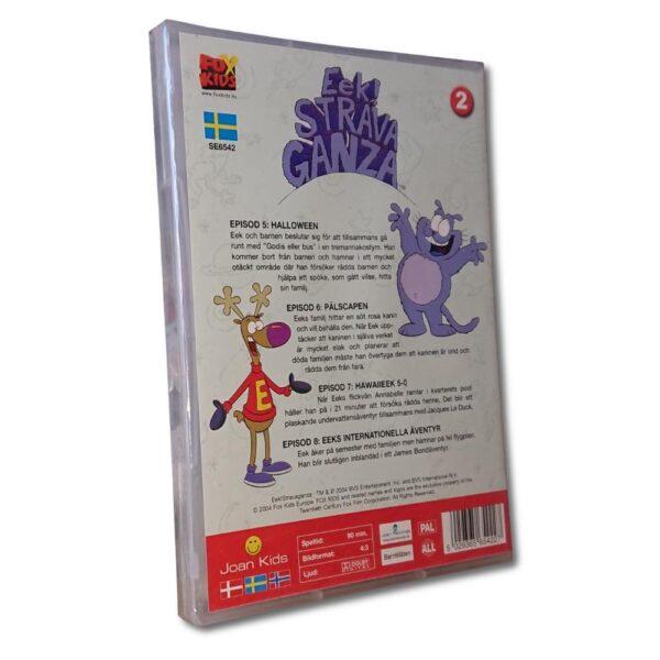 Eek! Strava Ganza - Vol 2: Del 5-8 - DVD - Tecknad barnfilm