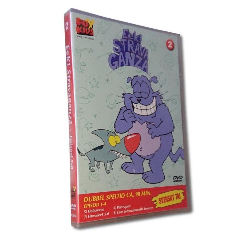 Eek! Strava Ganza – Vol 2: Del 5-8 – DVD – Tecknad barnfilm