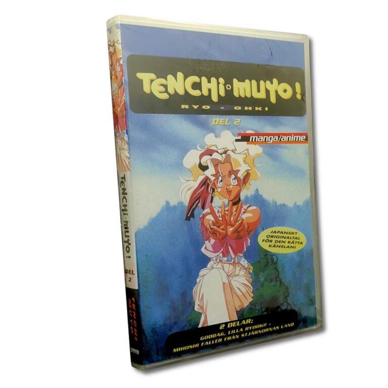 Tenchi Muyo Del.2  – DVD – Anime – Japanskt originaltal
