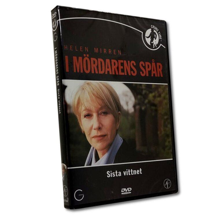 I Mördarens Spår – Sista Vittnet – DVD -Thriller – Helen Mirren