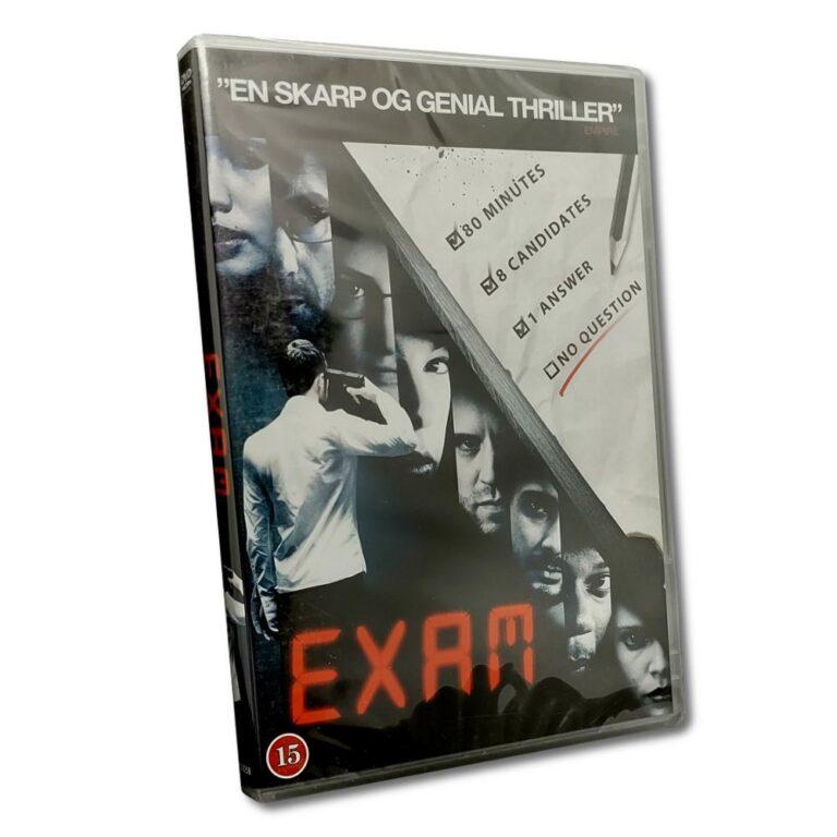 Exam – DVD – Thriller – Gemma Chan – Danskt omslag