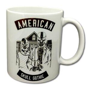 Roach - Mugg - American - Skull Gothic