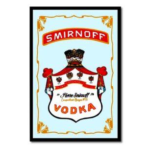 Smirnoff – Spegeltavla / Pubspegel / Barspegel