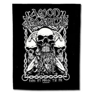 Amon Amarth - Ryggmärke - Bearded Skull