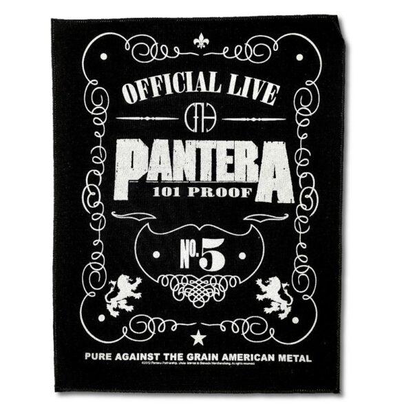 Pantera - Ryggmärke - 101 Proof