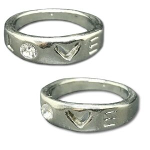 Ring - Text - Love - 17 mm