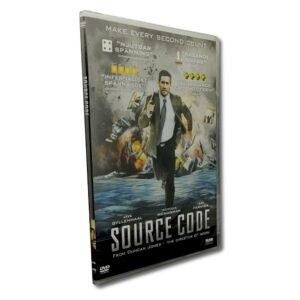 Source Code -DVD - Slim Case - Thriller - Jake Gyllenhaal